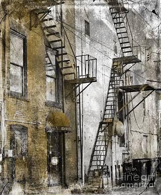 Photograph -  Alleyway In Portland, Me by Marcia Lee Jones