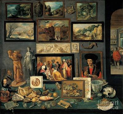 Curios Painting -  Art And Curio Collection  by Celestial Images