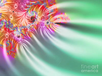 Fireworks Mixed Media -  Aurora Color Dreams by Stefano Senise
