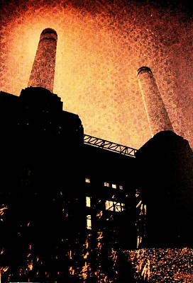 Battersea Power Station Print by David Studwell