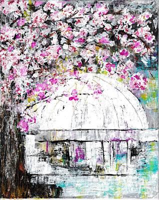 Washington D.c Drawing -  Capital Spring by Ronda Breen