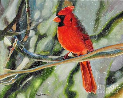 Cardinal Original by Kelly McNeil