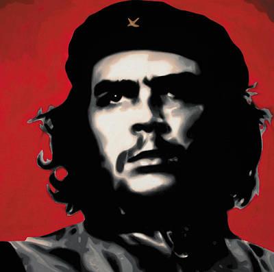 - Che - Print by Luis Ludzska