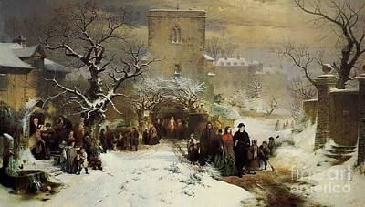 Ritchie Painting -  Christmas Day by John Ritchie