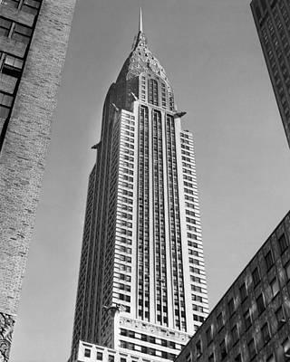 Chrysler Building Print by American School
