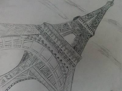 Beautiful Drawing -  City Of Lights by Nura Abuosba