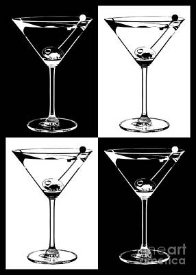 Martini Photograph -  Classic Martini  by Jon Neidert