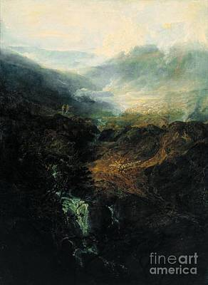 Cumberland River Painting -  Cumberland  Tate Britain by Joseph Mallord