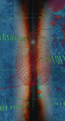 Free Will Digital Art -  Dig1ts by Francois Domain