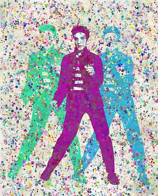 Elvis Aaron Presley Digital Art -  Elvis Presley by Denis Kujundzic