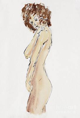 Flirtatious Print by Michal Boubin