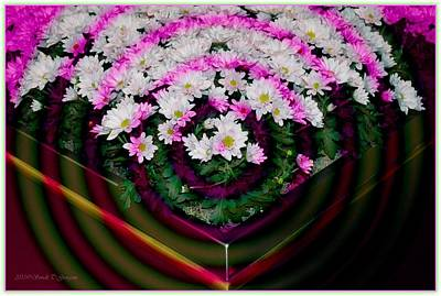 Floral Ring Digital Art -  Floral Rings by Sonali Gangane