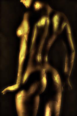 Glow Print by Naman Imagery