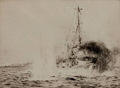 Hms Chester Print by William Lionel