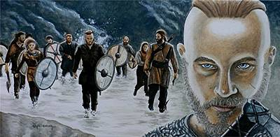 I Am Ragnar Lothbrok Original by Al  Molina