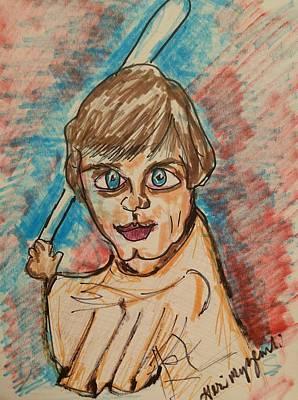 Luke Skywalker Original by Geraldine Myszenski