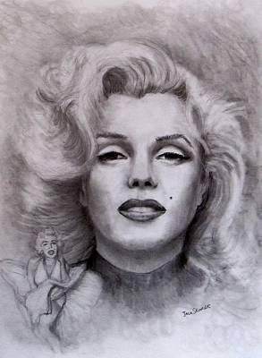 Marilyn Print by Jack Skinner