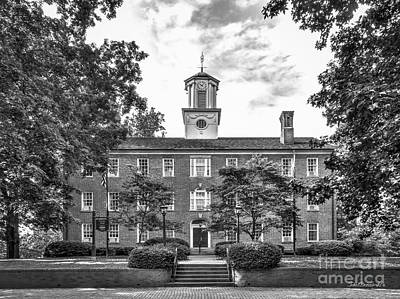 Ohio University Cutler Hall Print by University Icons