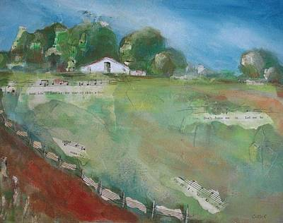 Jeannine Mixed Media -  Ranch House by Jeannine Clesie