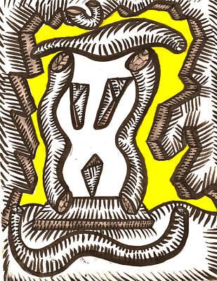 Rockscape Print by Al Goldfarb