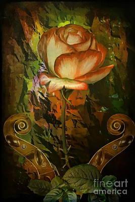 Rose An Inspiration Original by Andrzej Szczerski