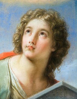 Saint John The Evangelist Print by Benedetto Luti