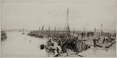 Scottish Herring Fishery Print by William Lionel