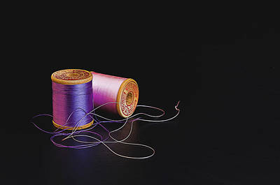 Handmade Icon Photograph -  Sewing Thread by Maria Coulson