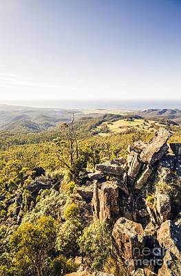 Hilltop Scenes Photograph -  St Marys South Sister Lookout by Jorgo Photography - Wall Art Gallery