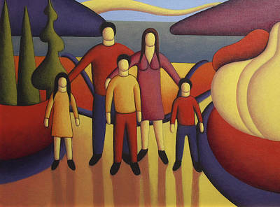The Family Print by Alan Kenny