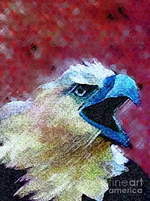 American Eagle Painting -  The Symbol Of Freedom by Mimo Krouzian