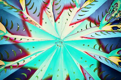 Buy Digital Art -  Turquoise Swirl by Prakash Ghai