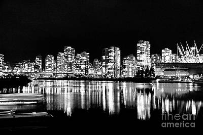 Vancouvers Silver Lining  Print by Dean Edwards