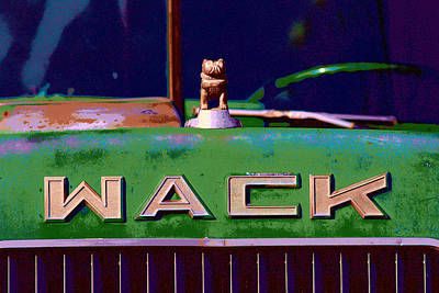 Wack Truck Print by William Jobes