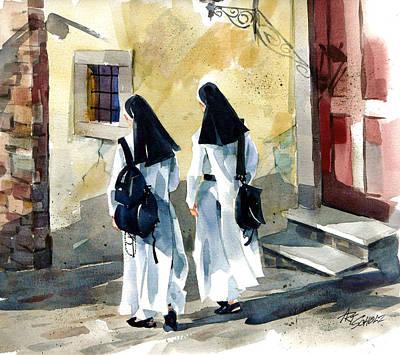 Walk Of Faith Original by Art Scholz