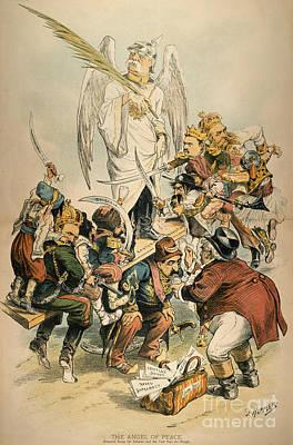 Otto Von Bismarck Print by Granger