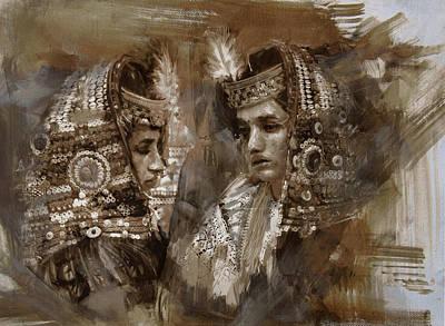 004 Kazakhstan Culture Print by Mahnoor Shah