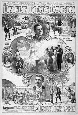 Uncle Tom's Cabin, C1899 Print by Granger