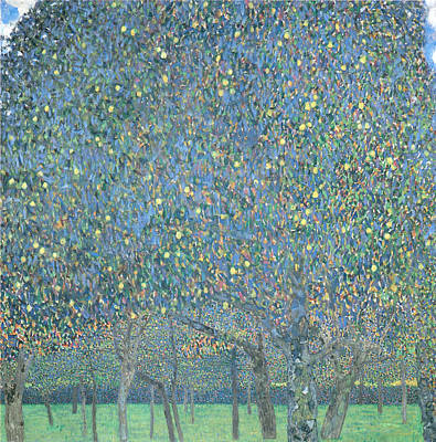 Fruit Tree Art Painting - Pear Tree by Gustav Klimt