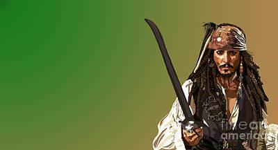 Johnny Depp Digital Art - 030. That by Tam Hazlewood