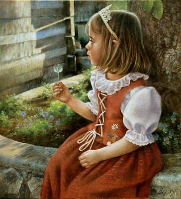 Painting -  Alexandra by Arthur Braginsky