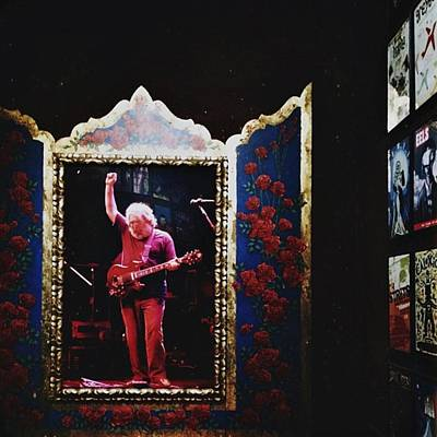 Music Photograph - Jerry Garcia by Leia Roberts