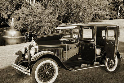 Duchess Digital Art - 1924 Buick Duchess Antique Vintage Photograph Fine Art Prints 10 by M K  Miller