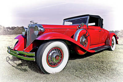 Doors Photograph - 1930 Cadillac V16 Coupe by Marcia Colelli