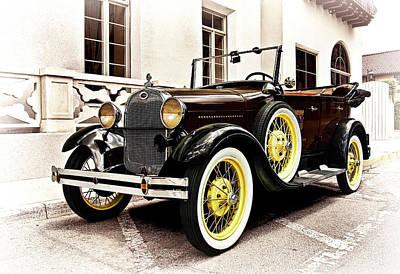 Artwork Photograph - 1931 Ford Phaeton by Marcia Colelli