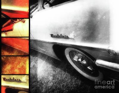 Classic Cars Digital Art - 1956 Mercury Montclair  by Steven Digman