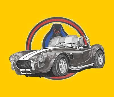 1966 Cobra Snake Print by Jack Pumphrey