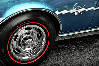 1968 Chevy Camaro Ss 396 Original by Gordon Dean II