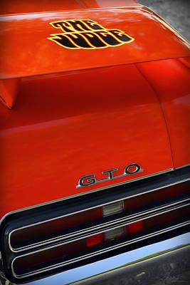 1969 Pontiac Gto The Judge Original by Gordon Dean II