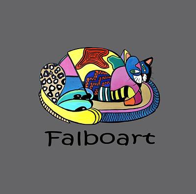 Fine Art Cat Digital Art - A Cat Named Picasso by Anthony Falbo